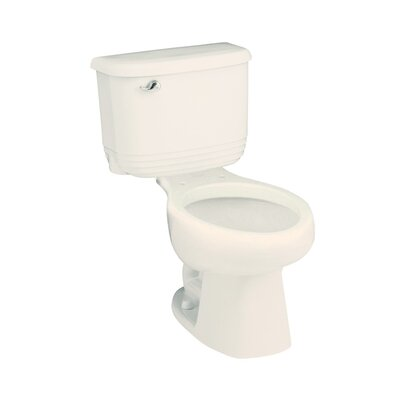 Riverton Series 1.6 GPF Elongated Two-Piece Toilet Finish: Biscuit