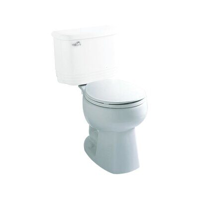 Windham 1.28 GPF Round Toilet Bowl Only Finish: White