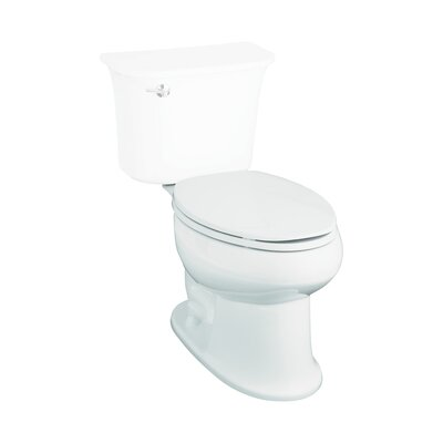 Stinson 1.6 GPF Elongated Toilet Bowl Only Finish: White