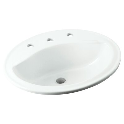 Sanibel Self Rimming Bathroom Sink 8