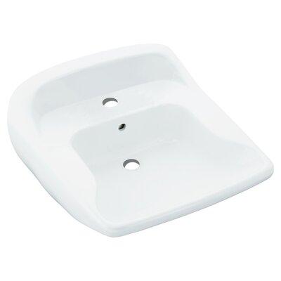 Worthington Ceramic 22 Wall Mount Bathroom Sink