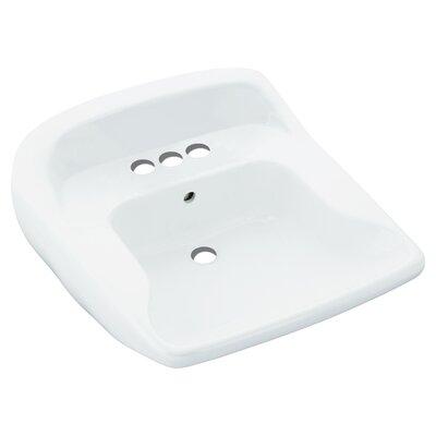 Worthington Barrier-Free Lavatory 21 Wall Mounted Bathroom Sink