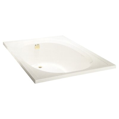 Tranquility 60 x 42 Soaking Bathtub Finish: Biscuit