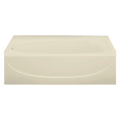 Acclaim 60 x 30 Soaking Bathtub Finish: Almond