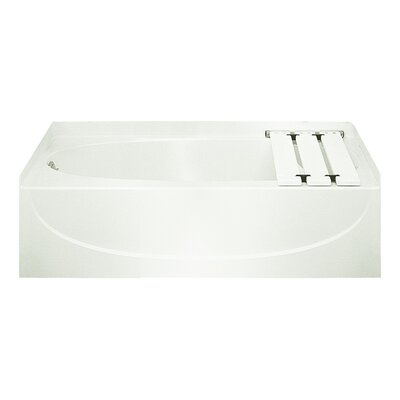 Acclaim 60 x 30 Soaking Bathtub Finish: White