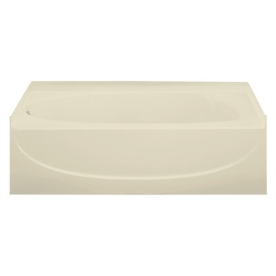 Acclaim 30 x 15 Soaking Bathtub Finish: Almond