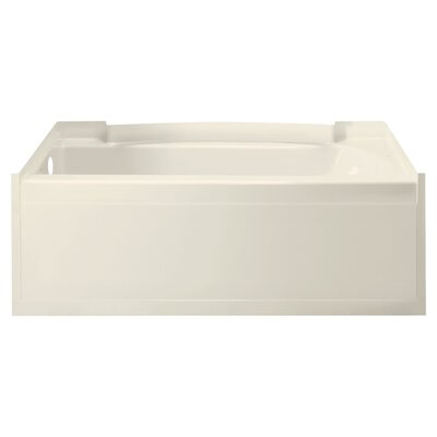 Accord 60 x 32 Soaking Bathtub Finish: High Gloss Biscuit