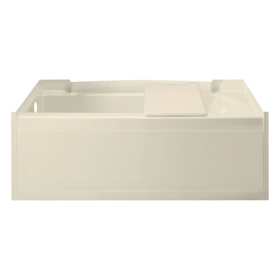 Accord 60 x 32 Soaking Bathtub Finish: High Gloss Almond