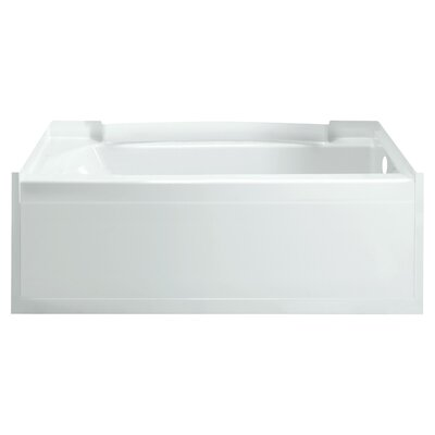 Accord 60 x 32 Soaking Bathtub Finish: High Gloss White