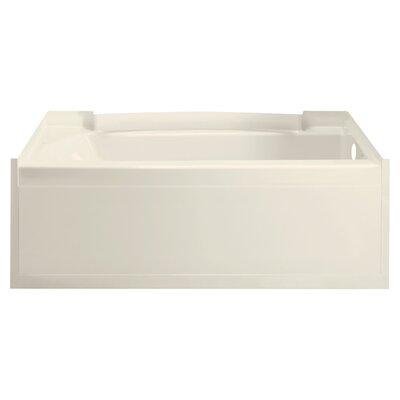 Accord 60 x 32 Soaking Bathtub Finish: High Gloss Biscuit
