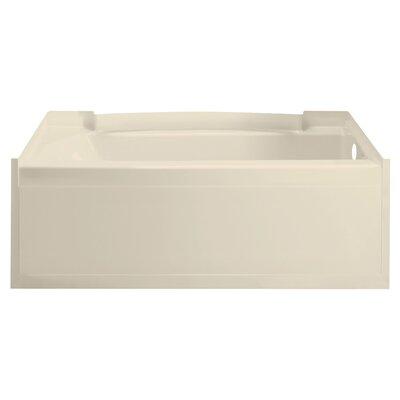 Accord 60 x 32 Soaking Bathtub Finish: High Gloss Almond