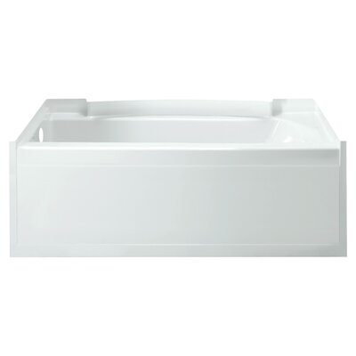 Accord 36 Soaking Bathtub Finish: High Gloss White