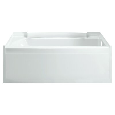 Accord 36 Soaking Bathtub Finish: High Gloss White