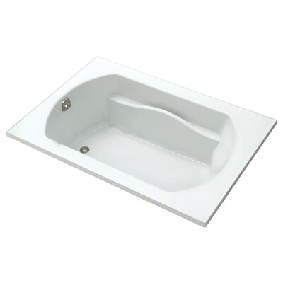 Lawson 60  x 42  Soaking Bathtub Finish: White