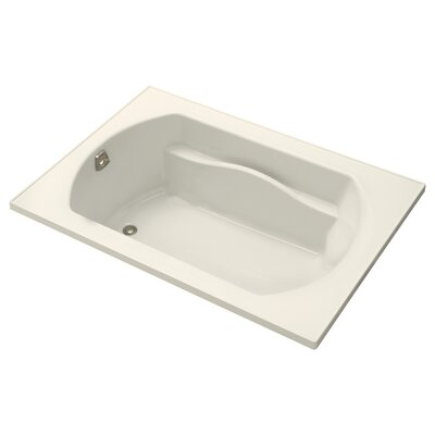 Lawson 60  x 42  Soaking Bathtub Finish: Biscuit