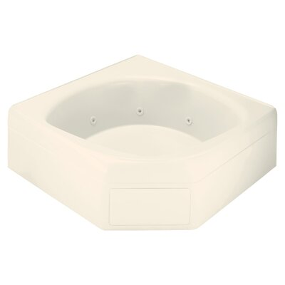 Ensemble 65 x 60 Soaking Bathtub Finish: Biscuit