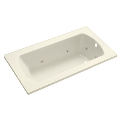 Lawson 32 Whirlpool Bathtub Finish: Biscuit
