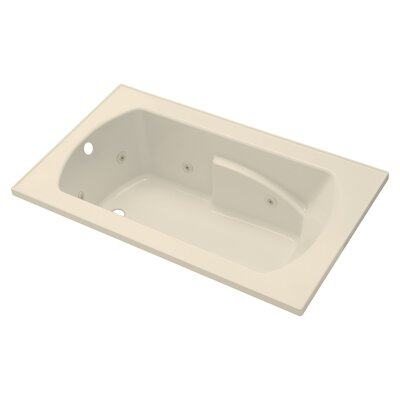 Lawson 60 x 36 Whirlpool Bathtub Finish: Almond
