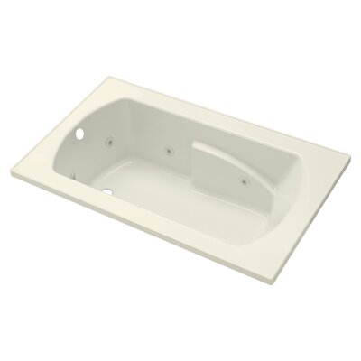 Lawson 36 Whirlpool Bathtub Finish: Biscuit