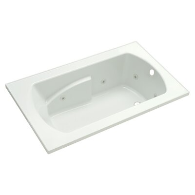 Lawson 36 Whirlpool Bathtub Finish: White
