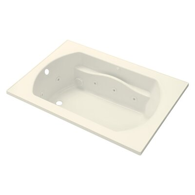 Lawson 60 x 42 Whirlpool Bathtub Finish: Biscuit