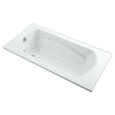 Lawson 72 x 36 Whirlpool Bathtub Finish: White