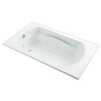 Lawson 72 Whirlpool Bathtub Finish: White