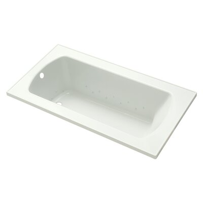 Lawson 60 Air Bathtub Finish: White