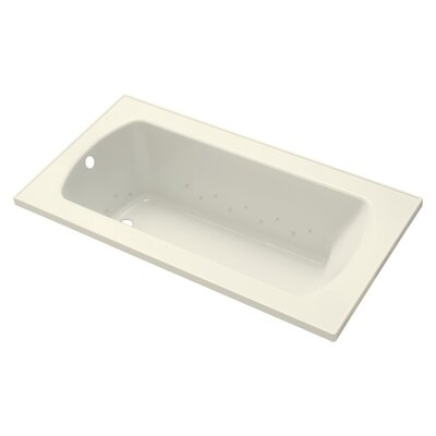 Lawson 60 Air Bathtub Finish: Biscuit