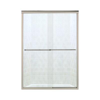 Sterling by Kohler Finesse Bypass Frameless Shower Door - Finish: Nickel