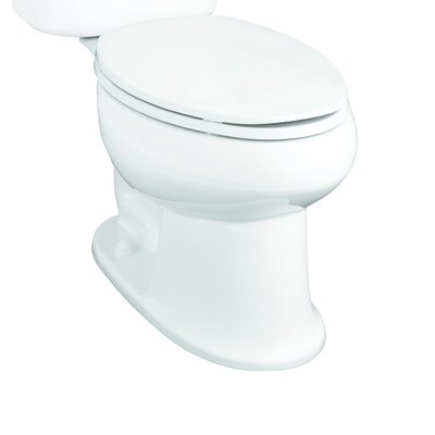 Stinson 1.28 GPF Elongated Toilet Bowl Only Finish: White