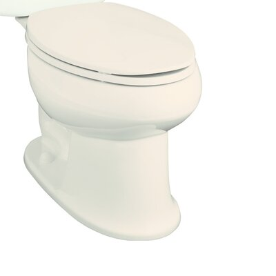 Stinson 1.28 GPF Elongated Toilet Bowl Only Finish: Biscuit