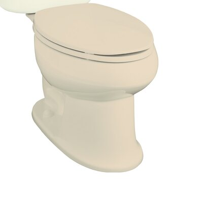 Stinson 1.28 GPF Elongated Toilet Bowl Only Finish: Almond