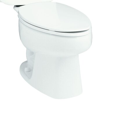 Windham 1.28 GPF Elongated Toilet Bowl Only Finish: White