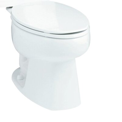 Windham 1.6 GPF Elongated Toilet Bowl Only Finish: White