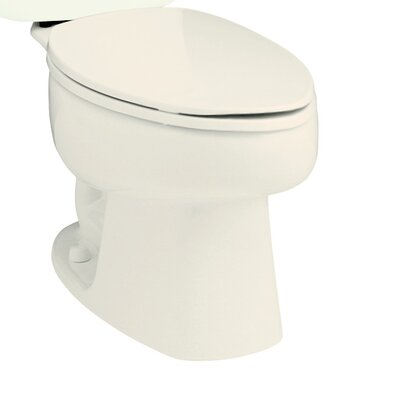 Windham 1.28 GPF Elongated Toilet Bowl Only Finish: Biscuit
