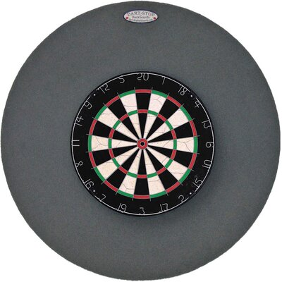 "Dart-Stop Original 36"" Round Backboard in Gray - Color: Gray at Sears.com"