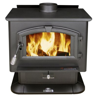 Medium EPA Certified Wood Stove in Black