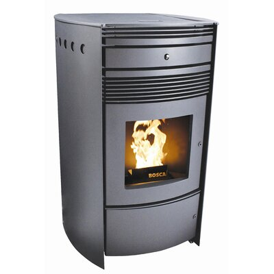 Spirit 500 Pellet Stove Finish: Black