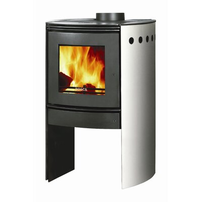 Spirit 550 Wood Stove Finish: Stainless Steel