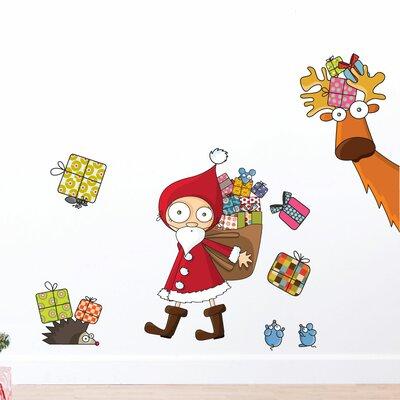 ADZif Christmas Santa Claus Wall Decal NL105