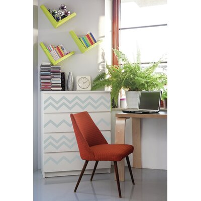 Forme Chevrons Wall Decal Color: Blue
