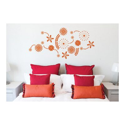 Flower Power on Adzif Ado Flower Power Wall Decal   Allmodern