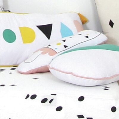 Marina Bonbon Cotton Throw Pillow