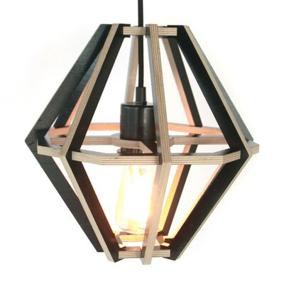 Diamond 11 Novelty Lamp Shade Finish: Black
