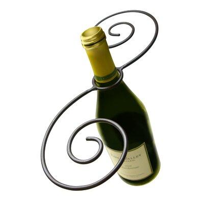 Swirl 1 Bottle Tabletop Wine Rack
