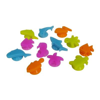 12 Piece Sea Buddies Glass Charms Set EP-CHARMS2