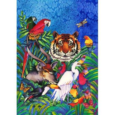Jungle Friends 2-Sided Garden Flag 109455