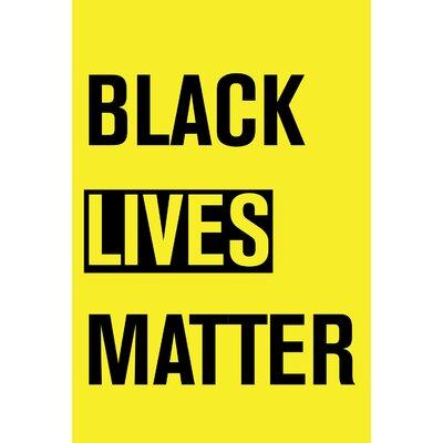 Black Lives Matter Garden flag 1010870