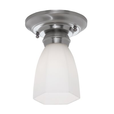 Mecer Hexagonal Semi Flush Mount Finish: Brushed Nickel